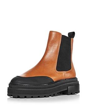 AQUA - Women's Mud Guard Platform Chelsea Boots - 100% Exclusive