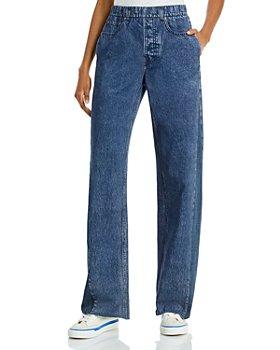 rag & bone - Miramar Wide Leg Stretch Waist Jeans in Bridle Trail