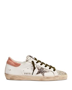 Golden Goose Women's Super Star Glitter Low Top Sneakers