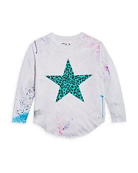 CHASER - Girls' Star Shirttail Tee - Little Kid, Big Kid