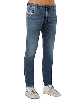 Diesel - Krooley-Y-T Straight Slim Fit Jogg Jeans in Denim