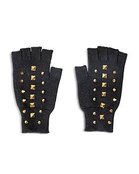 Lele Sadoughi - Studded Fingerless Gloves