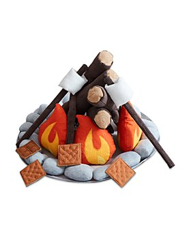 Wonder & Wise by Asweets - Plush Campout Campfire & S'mores Play Set - Ages 2+