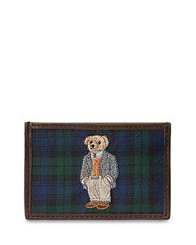 Polo Ralph Lauren - Polo Bear Tartan Card Case