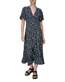 Whistles - Daisy Spot Print Midi Dress