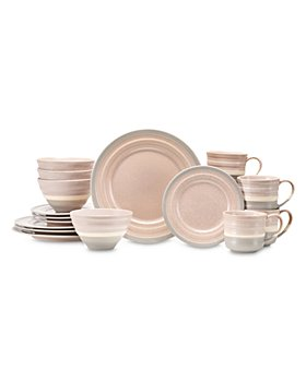 BAUM BROTHERS - Sloane 16 Piece Dinnerware Set, Service for Four