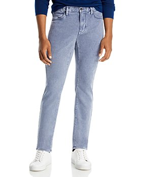 John Varvatos Star USA - Bowery Slim Straight Jeans in Dusted Blue