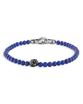David Yurman - Spiritual Beads Skull Bracelet