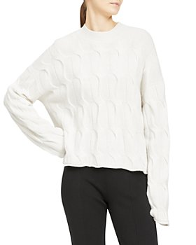 Theory - Cashmere Cable Knit Sweater