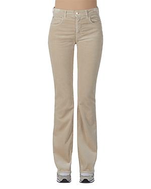 Flare Leg Corduroy Pants