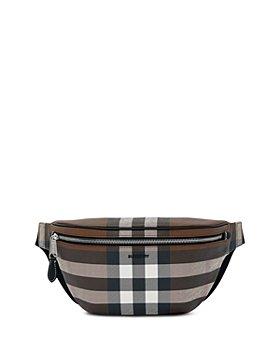 Burberry - E-Canvas Check Bum Bag