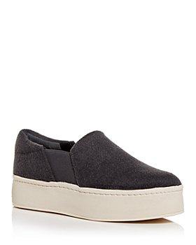 Vince - Women's Warren-Eco Platform Slip On Sneakers