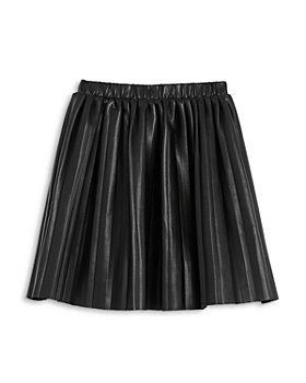 BCBG GIRLS - Girls' Pleated Faux Leather Skirt - Big Kid