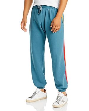 Six Stripe Regular Fit Sweatpants