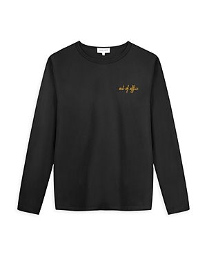 Charlot Out of Office Embroidered Long Sleeve Tee