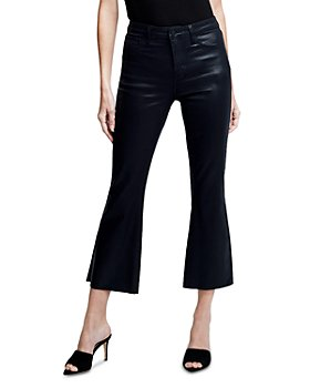 L'AGENCE - Kendra High Rise Cropped Flared Jeans