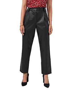 VINCE CAMUTO - Straight Leg Faux Leather Pants