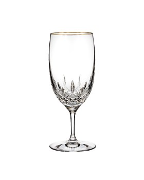 Waterford - Lismore Essence Gold Iced Beverage Glass