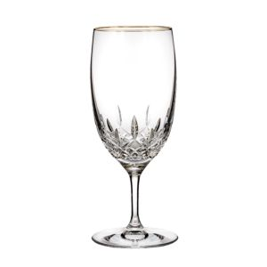 Waterford Lismore Essence Gold Iced Beverage Glass