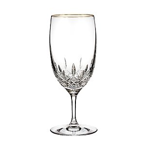 Waterford Lismore Essence Gold Iced Beverage Glass-Home