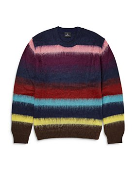 PS Paul Smith - Multi Color Striped Regular Fit Sweater