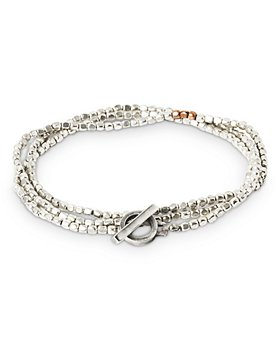 THE MONOTYPE - Darius Breaded Triple Wrap Bracelet