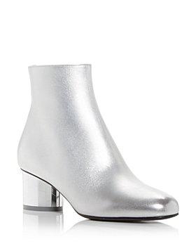 Salvatore Ferragamo - Women's Florrie Mirror Heel Booties