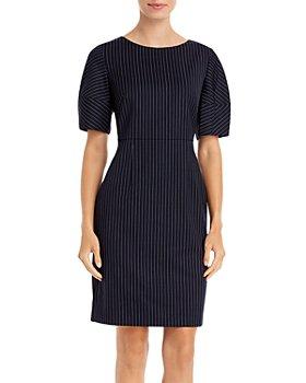 BOSS - Dusiny Striped Dress