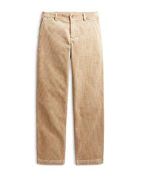 Ralph Lauren - Boys' Straight Fit Stretch Corduroy Pants - Little Kid, Big Kid