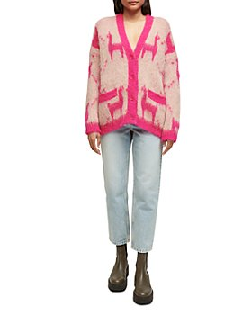 Maje - My Llama Cardigan Sweater