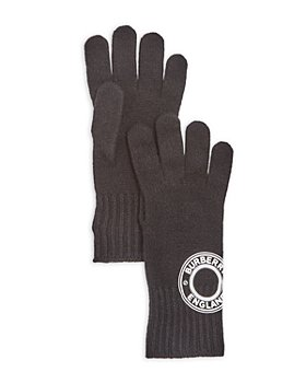 Burberry - Roundel Logo Cashmere Blend Knit Gloves