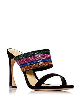 Alexandre Birman - Women's Denise Embellished High Heel Slide Sandals