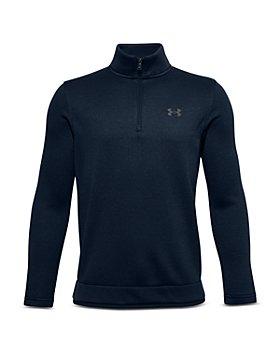 Under Armour - Boys' Half Zip Sweater Fleece - Big Kid
