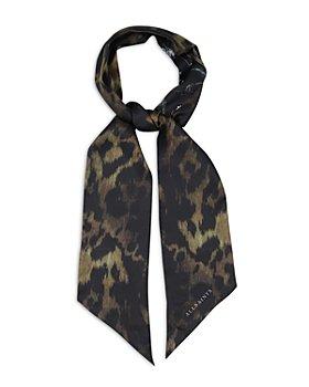 ALLSAINTS - Heligan Reversible Skinny Silk Scarf