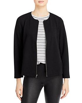 Eileen Fisher - Zip Up Knit Jacket