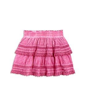 KatieJnyc - Girls' Ashley Overdyed Ruffle Skirt - Big Kid