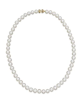"Bloomingdale's - Cultured Freshwater 7mm Pearl Strand Necklace, 16"" - 100% Exclusive"