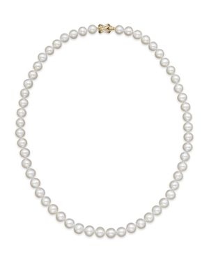 Cultured Freshwater 7mm Pearl Strand Necklace, 18
