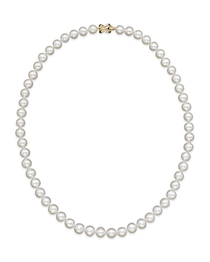 Cultured Freshwater 7mm Pearl Strand Necklace, 16