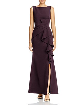 Eliza J - Sleeveless Ruffle Waist Gown