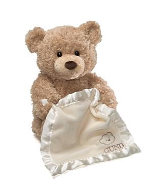 Gund Peekaboo Singing Bear - 14.5