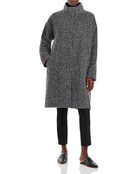 Eileen Fisher - Herringbone Coat