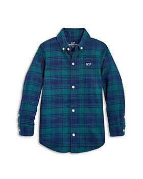 Vineyard Vines - Boys' Flannel Button Down Shirt - Little Kid, Big Kid