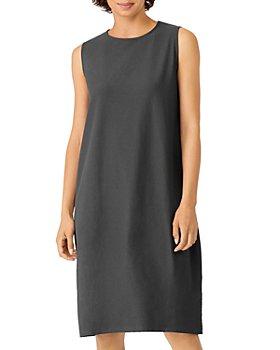 Eileen Fisher - Knee Length Lantern Dress