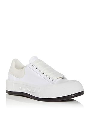 Alexander McQueen Women's Platform Low Top Sneakers