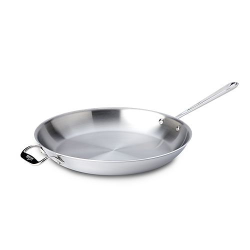 """All-Clad - Stainless Steel 14"""" Fry Pan"""