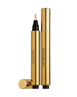 What It Is: Like a magic wand, the Touche Eclat pen instantly brightens, smooths and perfects your complexion with a natural, luminous finish. What It\\\'S For: All skin types. What It Does: - Highlights your best features without any of the shimmer or glitter. - Brightens the complexion to fight dullness, fatigue and bring light to the face. - Smooths fine lines and wrinkles and lifts your features with no risk of caking or creasing. - Perfects your makeup, gives your lips a natural plump and eras
