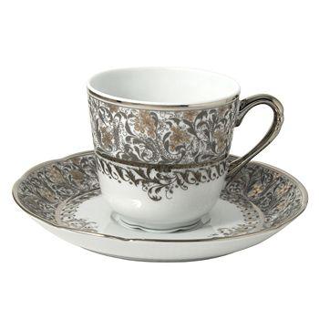 Bernardaud - Eden Platinum Coffee Cup