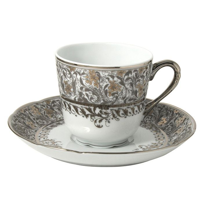 Bernardaud - Eden Platinum Coffee Cup