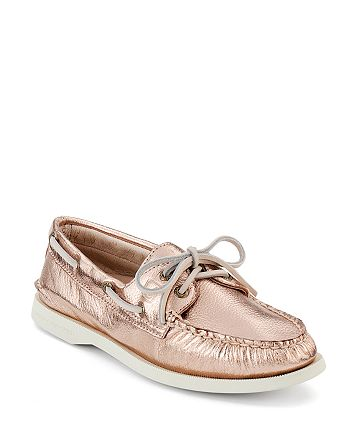 1c3208b205a0 Sperry Boat Shoes - 2-Eye Rosegold